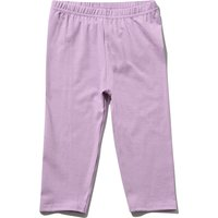 Kids Girls leggings plain with an elasticated waistband  - Lilac