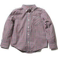 Kids Ben Sherman boys pure cotton long sleeve button front fastening chest pocket check shirt  - Dee
