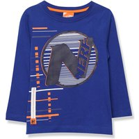 Kids Boys Nerf t-shirt with long sleeves  - Blue