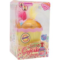 Kids Tutzie trolls Cupcake surprise pop up scented princess doll with glitter stage and hair brush