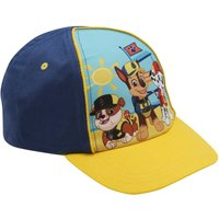 Paw Patrol blue and yellow character print snapback adjustable strap cap  - Yellow