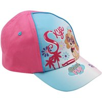 Girls Paw Patrol Skye Character Print Pink And Blue Adjustable Strap Sun Hat Cap  - Pink