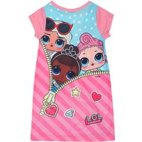 lol Surprise girls short sleeve Miss Baby Leading Baby character print crew neck jersey nightdress
