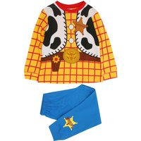 Kids Disney Toy Story Woody pyjamas with long sleeves  - Yellow