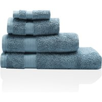 100% Combed Cotton 580Gsm Soft And Absorbent Bathroom Hand Towel  - Petrol Blue