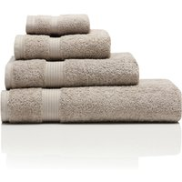 100% Combed Cotton 580Gsm Soft And Absorbent Bathroom Facecloth  - Beige