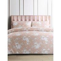 Pink floral print duvet cover set  - Pink