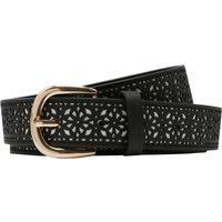 Black Cut Out Belt - Black