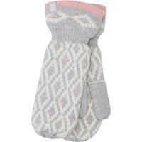 Ladies Heat Holders mittens thermal lined winter gloves  - Grey