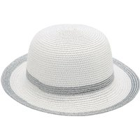 Ladies straw hat summer wide brim  - Ivory