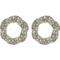 Diamante Earrings - Silver