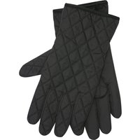 Black Quilted Gloves - Black