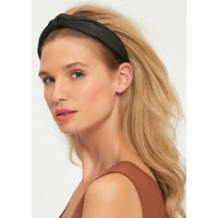 Ladieds Muse Headband With Black Shimmer Fabric - Black