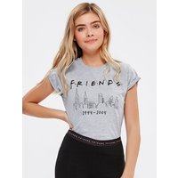 Teen girl Friends t-shirt  - Grey Marl