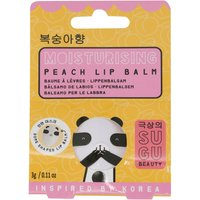 NPW Sugu collection shea butter beeswax peach scented lip balm  - Multicolour