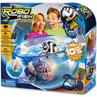 Deep Sea Robo Fish Playset - Wimple, White