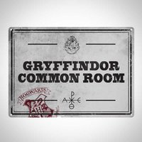 Harry Potter Gryffindor Tin Sign
