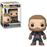 Pop! Bobble: Marvel Avengers Infinity War - Captain America