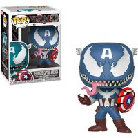 Pop! Bobble: Marvel Venom - Captain America