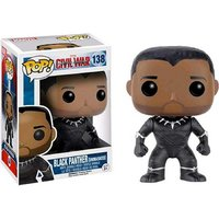 Pop! Vinyl: Captain America Civil War - Black Panther (Unmasked)