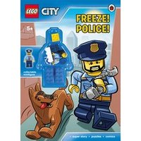 LEGO CITY: Freeze! Police! Activity Book