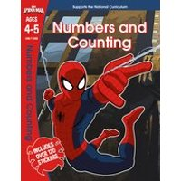 Marvel Learning: Spider-Man: Numbers and Counting, Ages 4-5