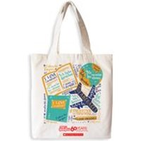 Mary Glasgow Magazines: I Love Languages Cotton Tote Bag
