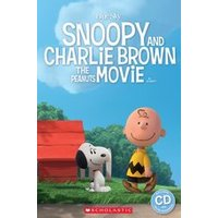 Popcorn ELT Primary Readers Starter Level - Level 1: Snoopy and Charlie Brown: The Peanuts Movie (Book and CD)