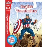Marvel Learning: Captain America English Vocabulary (Ages 6-7)