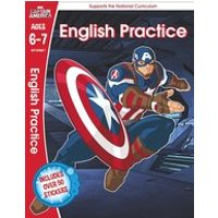 Marvel Learning: Captain America English Practice (Ages 6-7)