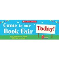 Book Fair Outside Banner