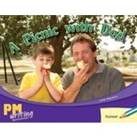 PM Writing 1: A Picnic With Dad (PM Blue/Green) Levels 11, 12 x 6