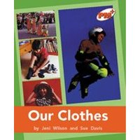 PM Orange: Our Clothes (PM Plus Non-fiction) Levels 16, 17 x 6
