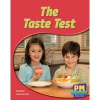 PM Blue: The Taste Test (PM Science Facts) Levels 11, 12 x 6