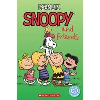 Popcorn ELT Primary Readers Level 2: Peanuts: Snoopy and Friends (Book and CD)