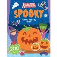 Scholastic Activities: Spooky Sticker Activity Book