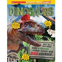 Discover More Stickers: Dinosaurs