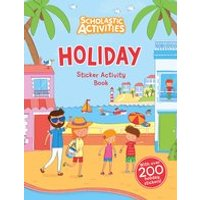 Scholastic Activities: Holiday Sticker Activity Book