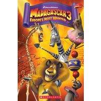 Popcorn ELT Primary Readers Level 3: Madagascar 3 (Book and CD)