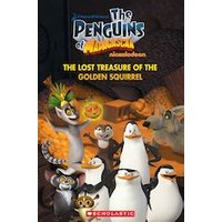 Popcorn ELT Primary Readers Starter Level - Level 1: The Penguins of Madagascar: The Lost Treasure of the Golden Squirrel (Book and CD)