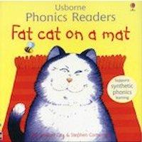 Usborne Phonics Readers: Fat Cat on a Mat
