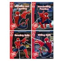 Marvel Workbooks Ages 4-5 Pack x 4