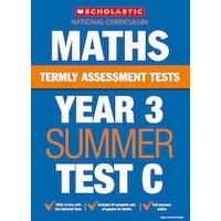 Termly Assessment Tests: Year 3 Maths Test C x 10