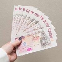 10 One Million Pound Notes