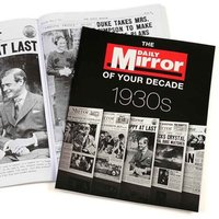 1930s Daily Mirror of Your Decade Book - Books Gifts
