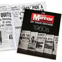 1960s Daily Mirror of your Decade Book - Books Gifts