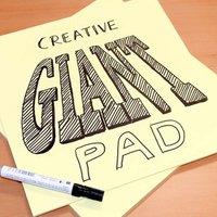 25 Big Sticky Note Pads