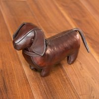Handmade Leather Dachshund-Miniature - Handmade Gifts