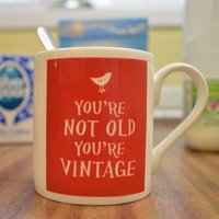 Youre Not Old, Youre Vintage Mug