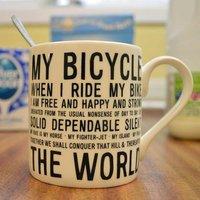 My Bicycle Mug - Bicycle Gifts